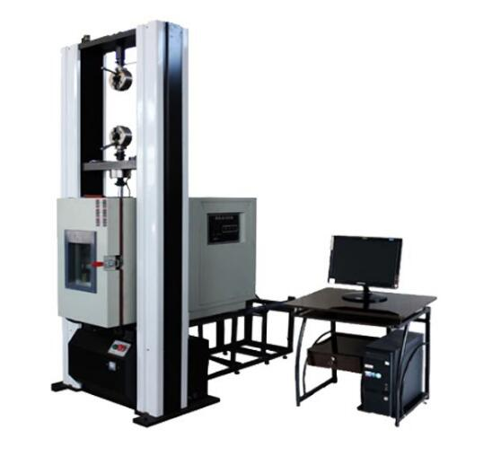 High and low temperature universal testing machine (floor type) of microcomputer controlled heat insulation profile
